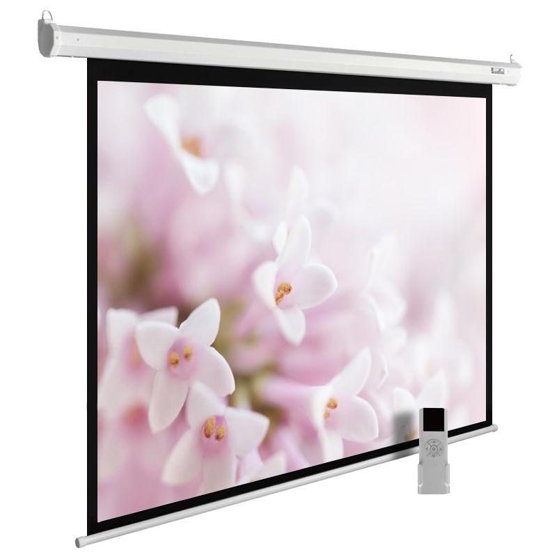 Экран CACTUS MotoExpert CS-PSME-240x240-WT,  240х240 см, 1:1,  настенно-потолочный белый
