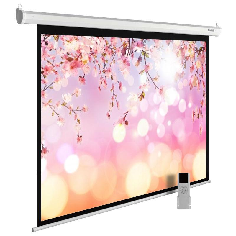 Экран CACTUS MotoExpert CS-PSME-220x220-WT,  220х220 см, 1:1,  настенно-потолочный белый