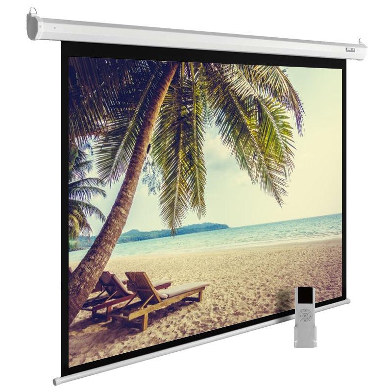 Экран CACTUS MotoExpert CS-PSME-360x360-WT,  360х360 см, 1:1,  настенно-потолочный белый