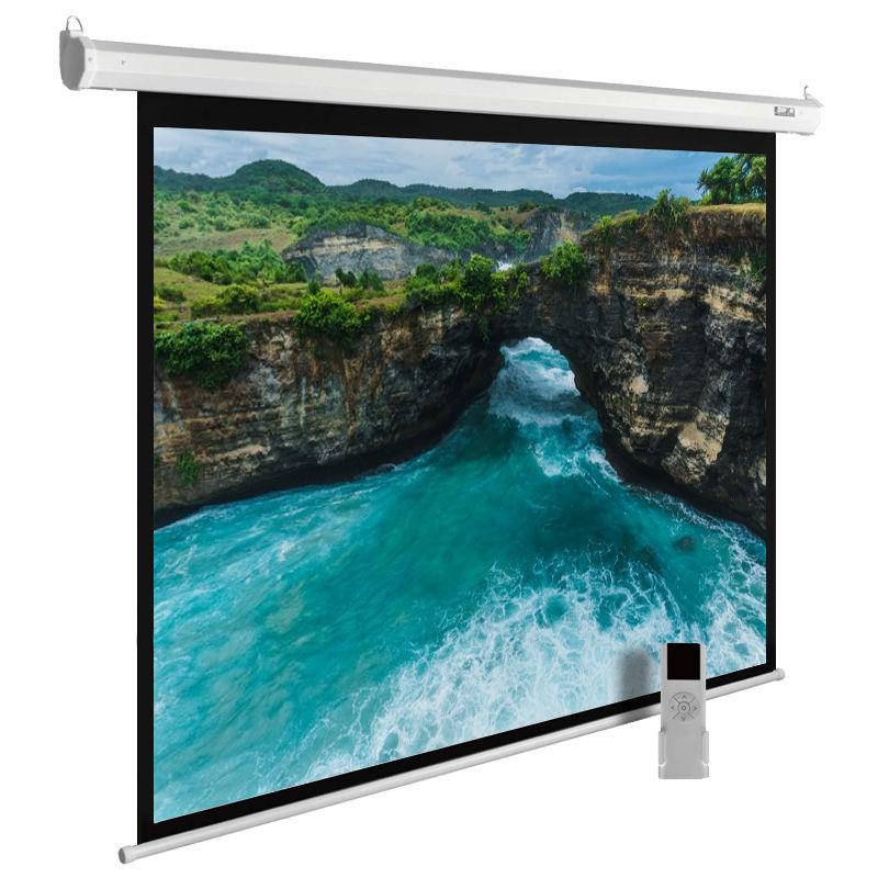 Экран CACTUS MotoExpert CS-PSME-200x150-WT,  200х150 см, 4:3,  настенно-потолочный белый