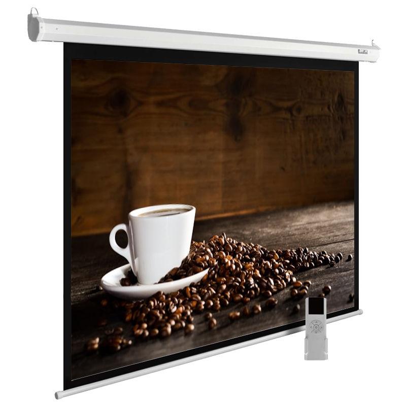 Экран CACTUS MotoExpert CS-PSME-300x300-WT,  300х300 см, 1:1,  настенно-потолочный белый