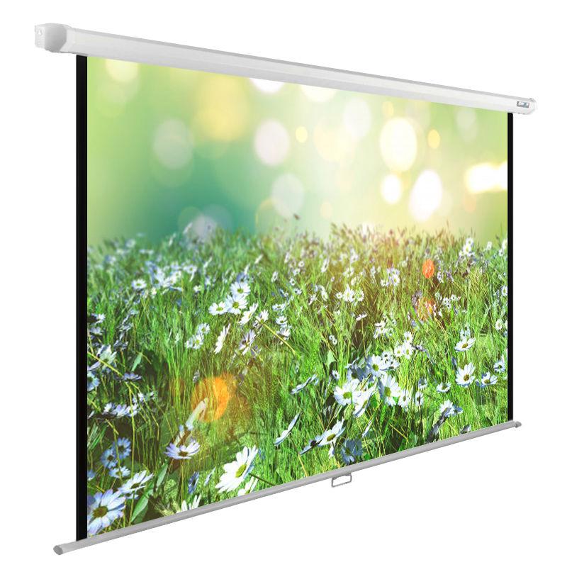 Экран CACTUS WallExpert CS-PSWE-200x200-WT,  200х200 см, 1:1,  настенно-потолочный