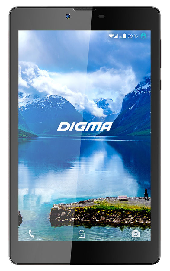 Планшет DIGMA Optima 7011D 4G, 1GB, 8GB, 3G, 4G, Android 6.0 черный [ts7101pl] digma platina 8 1 4g 8 1gb 16gb wifi bt 3g android 4 4 black