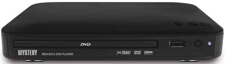 DVD-плеер MYSTERY MDV-631U,  черный