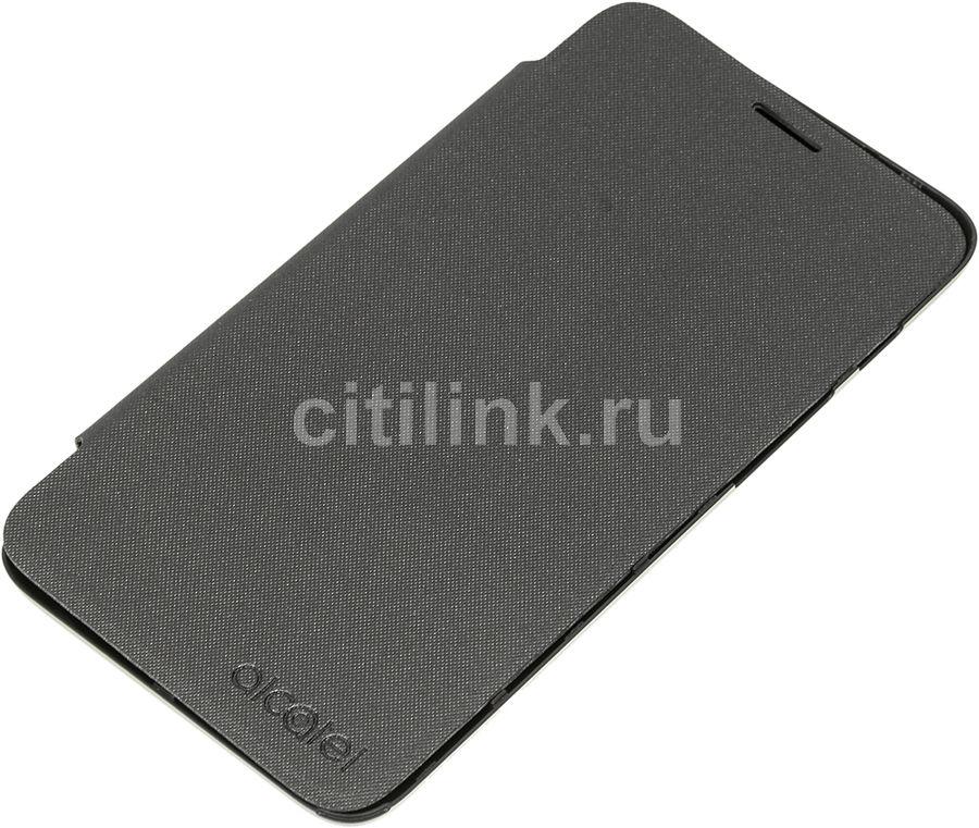 Чехол (флип-кейс) ALCATEL FlipCover, для Alcatel Pixi 4 5010, черный [g5010-3aalfcg]