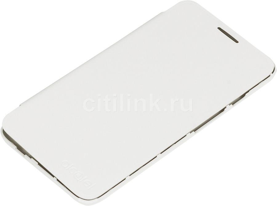 Чехол (флип-кейс) ALCATEL FlipCover, для Alcatel Pixi 4 5045, белый [g5045-3balfcg]