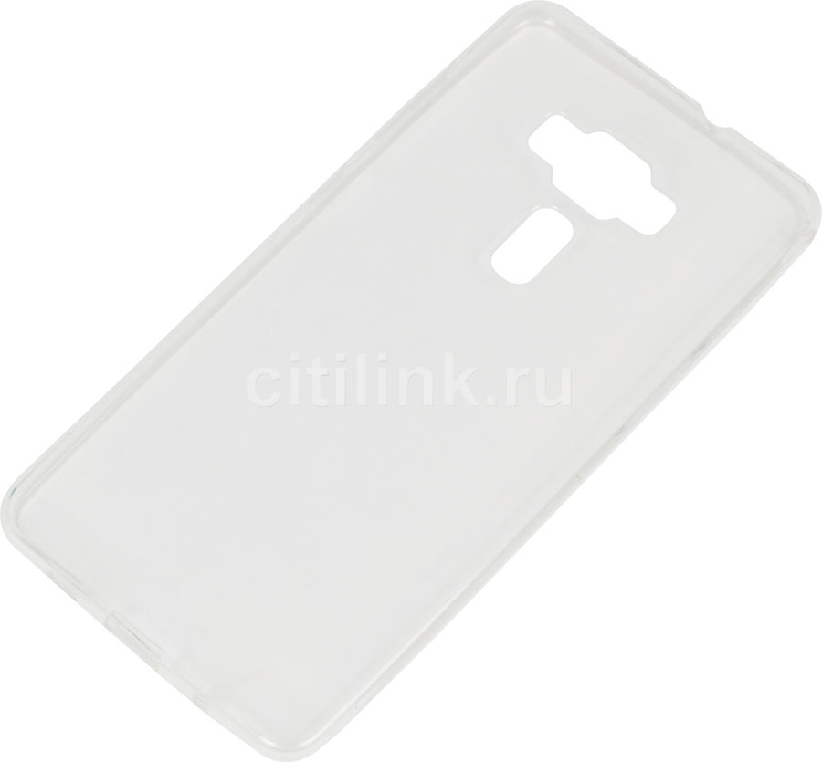 Чехол (клип-кейс) REDLINE iBox Crystal, для Asus ZenFone 3 Deluxe ZS570KL/ZS576KL, прозрачный [ут000009452]