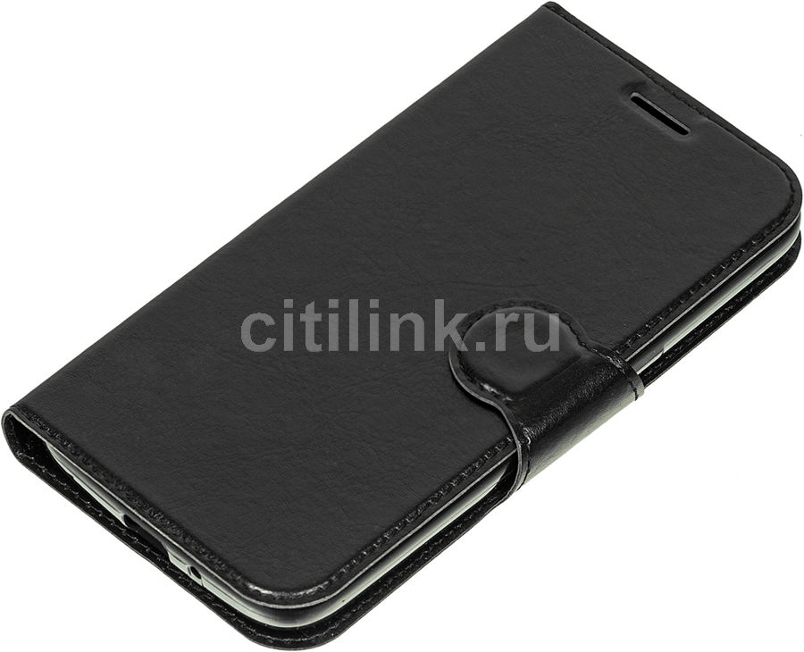 Чехол (флип-кейс) REDLINE Book Type, для Samsung Galaxy J2, черный [ут000009638]