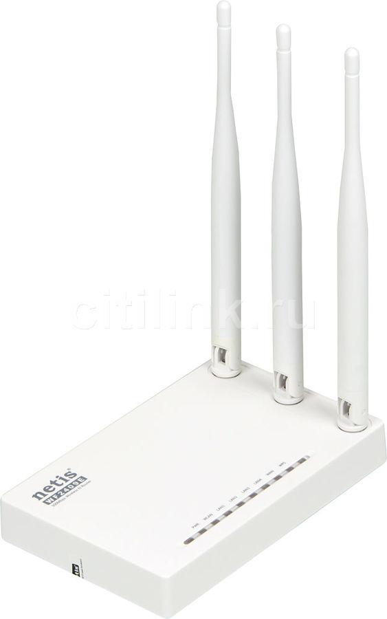 Купить Wi-Fi роутер NETIS WF2409E, белый в интернет-магазине СИТИЛИНК, цена на Wi-Fi роутер NETIS WF2409E, белый (408291) - Нижний Новгород