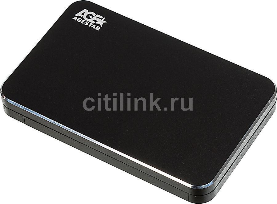 Внешний корпус для  HDD AGESTAR 3UB2A18, черный
