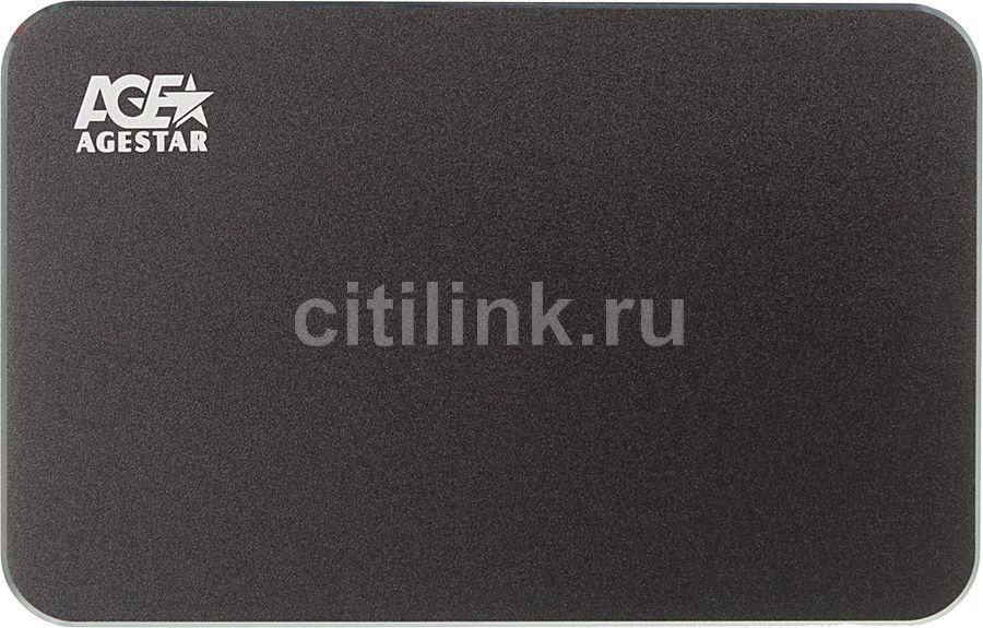 Внешний корпус для  HDD AGESTAR 3UB2A18C, черный