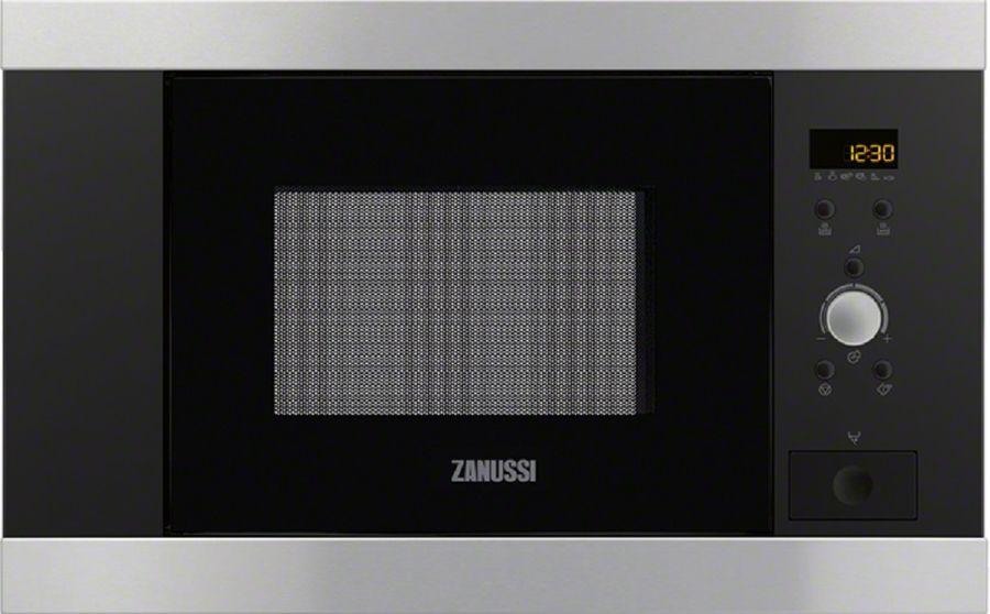 Микроволновая Печь Zanussi ZBM17542XA 16.8л. 800Вт нержавеющая сталь (встраиваемая)