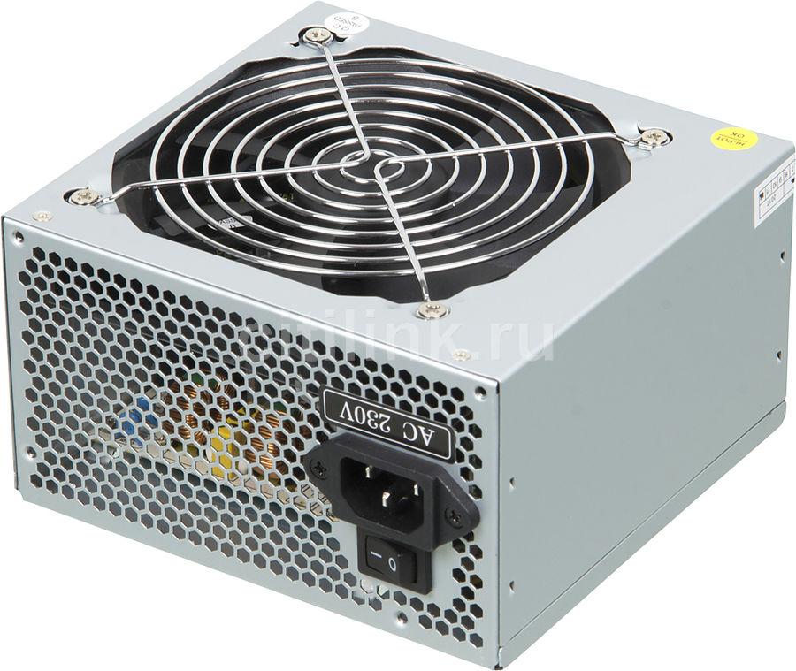 Блок питания HIPRO (HIPO DIGI) HPP-500W,  500Вт,  120мм,  серый