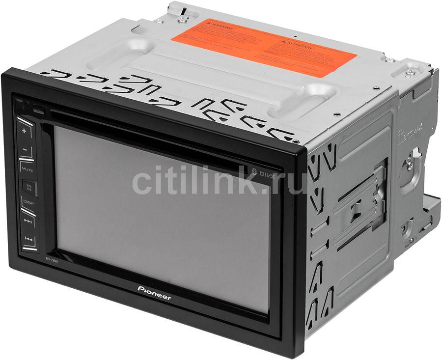 Автомагнитола PIONEER AVH-290BT,  USB