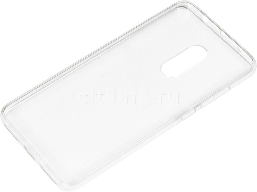 Чехол (клип-кейс) REDLINE iBox Crystal, для Xiaomi Redmi Note 4, прозрачный [ут000010109]