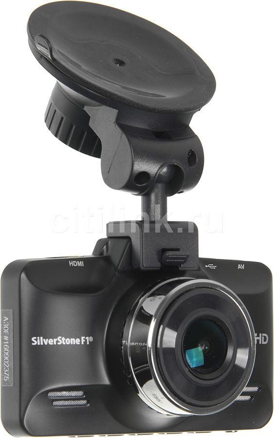 Видеорегистратор SILVERSTONE F1 A-30FHD черный