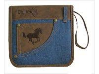 Портмоне DIGITEX Weekend DCAWW-036-PP, коричневый+синий, для 36 дисков
