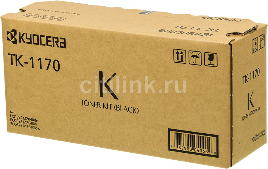 Картридж KYOCERA TK-1170, черный