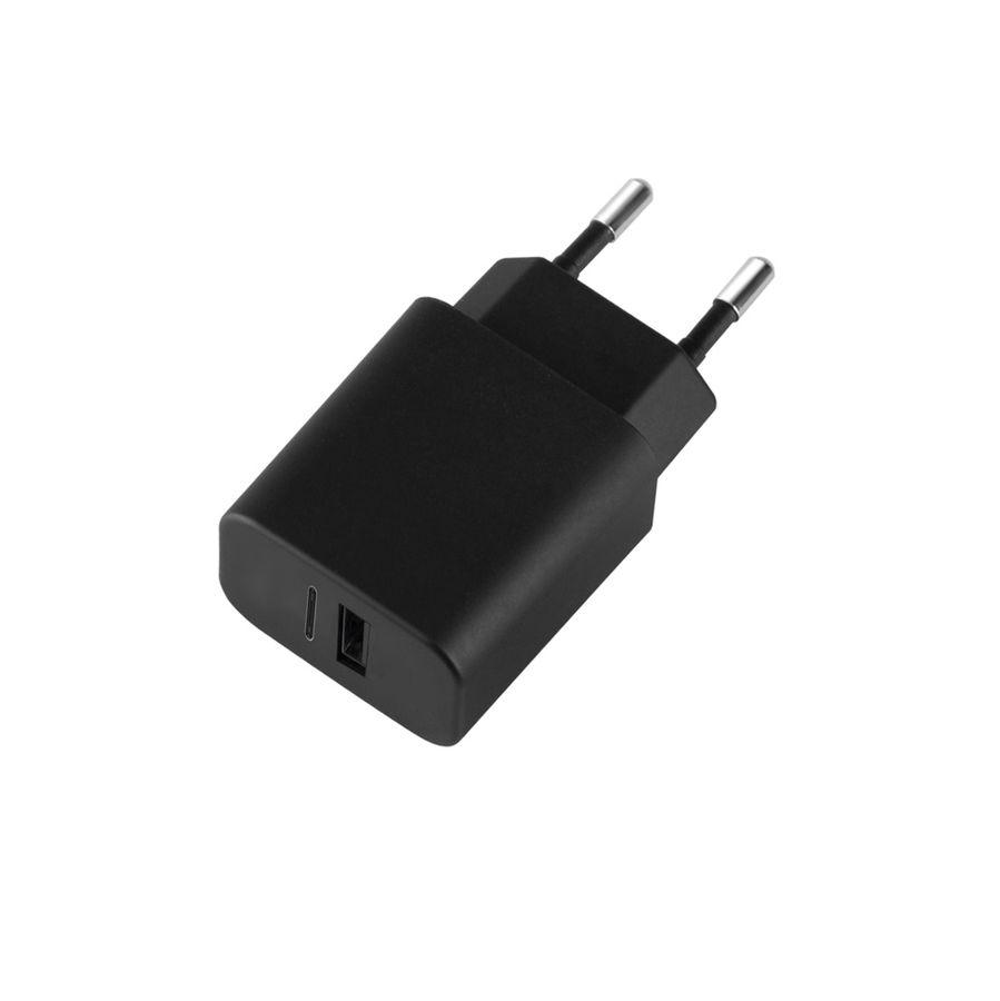 Комплект зарядного устройства DEPPA Ultra,  USB,  3.4A,  черный