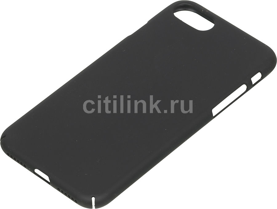 Чехол (клип-кейс) DEPPA Air Case, для Apple iPhone 7/8, черный [83267] apple чехол клип кейс apple для apple iphone 7 mmy52zm a черный