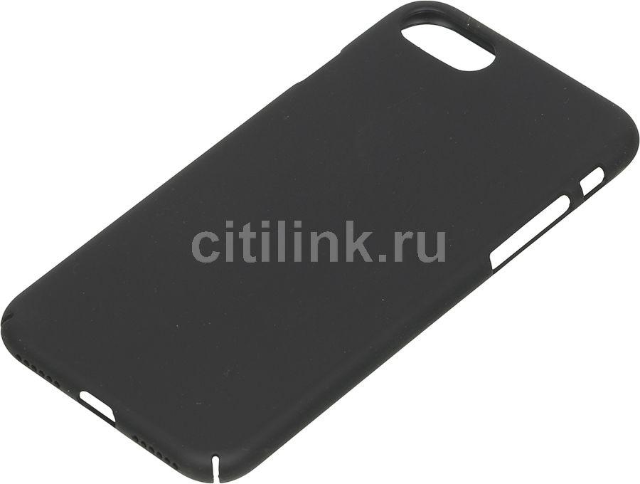 Чехол (клип-кейс) DEPPA Air Case, для Apple iPhone 7, черный [83267]