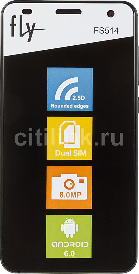 Смартфон FLY Cirrus 8 FS514,  черный