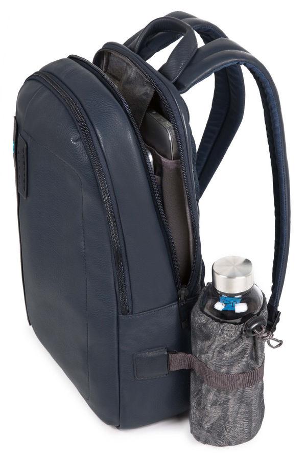 Рюкзак Piquadro Pulse CA3869P15/BLU3 синий натур.кожа