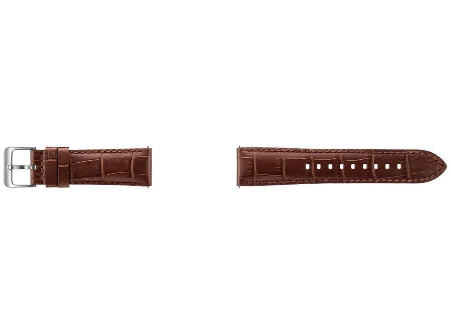 Ремешок SAMSUNG Galaxy Gear S3 ET-YSA76MDEGRU,  коричневый