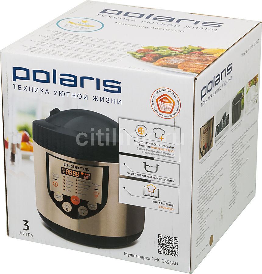 купить мультиварка Polaris Pmc 0351ad медный по выгодной цене в