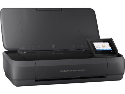 МФУ струйный HP OfficeJet 252 mobile AiO, A4, цветной, струйный, черный [n4l16c]