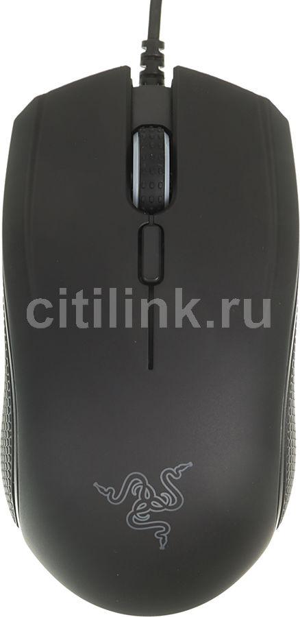 Мышь RAZER Abyssus v2 оптическая проводная USB, черный [rz01-01900100-r3g1]