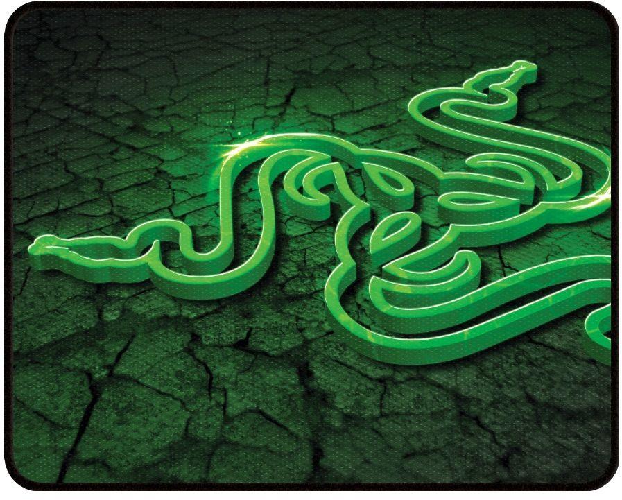 Коврик для мыши RAZER Goliathus Control Fissure Edition Large зеленый/рисунок [rz02-01070700-r3m2]