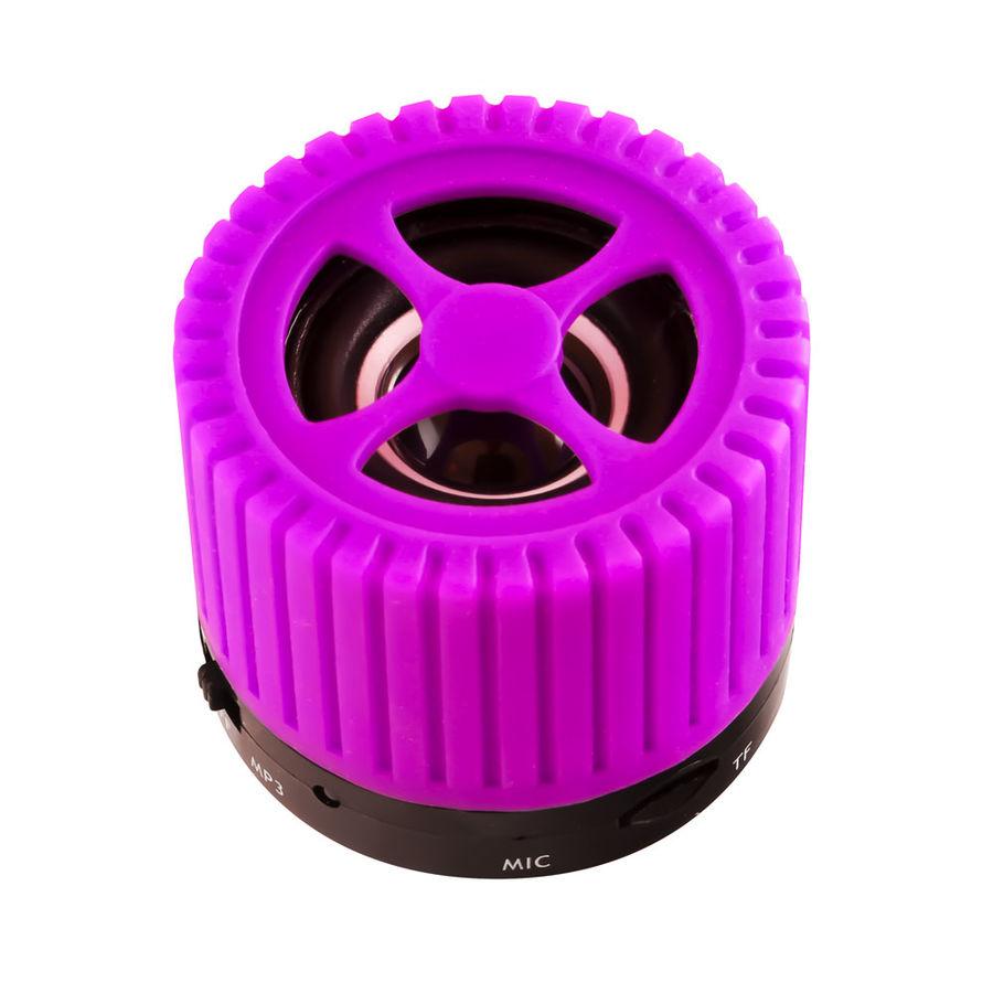 Портативные колонки GINZZU GM-988V,  фиолетовый