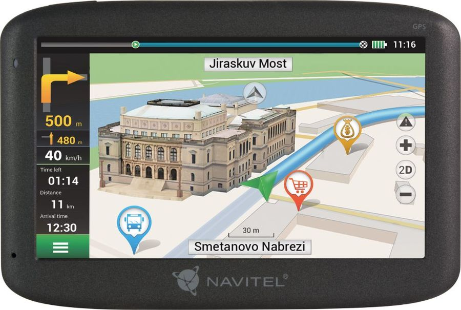 GPS навигатор NAVITEL E500,  5