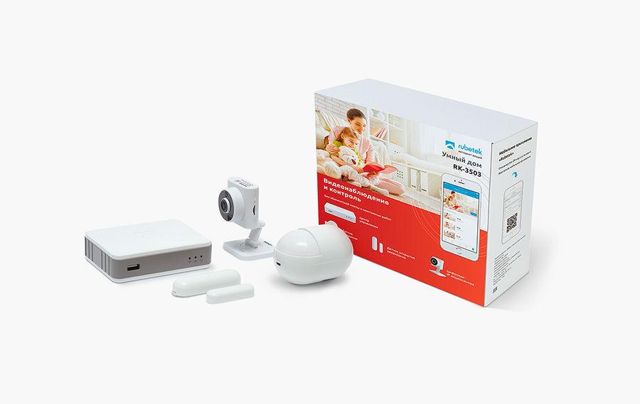 Комплект Rubetek RK-3503 видеонаблюдение и контроль доступа