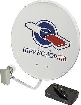 Комплект спутникового телевидения ТРИКОЛОР Full HD GSB532M черный