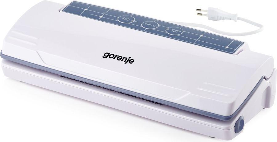 Вакуумный упаковщик Gorenje VS110W 110Вт серебристый/черный