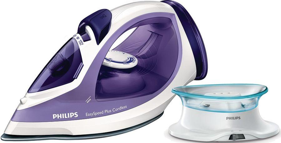 Утюг PHILIPS GC2088/30,  2400Вт,  фиолетовый/ белый