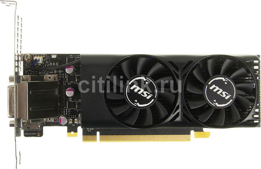 Видеокарта MSI nVidia  GeForce GTX 1050TI ,  GTX 1050 Ti 4GT LP,  4Гб, GDDR5, Low Profile,  Ret