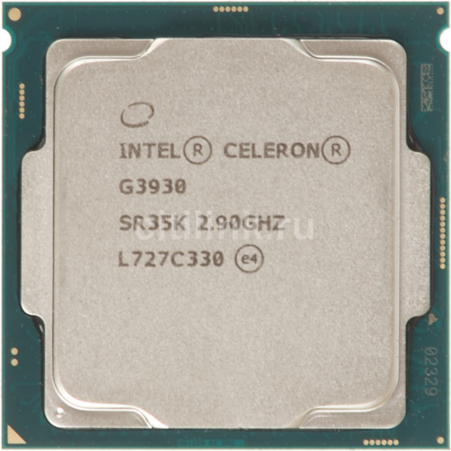 Процессор INTEL Celeron G3930, LGA 1151 * OEM [cm8067703015717s r35k] процессор intel celeron g3930 2 9ghz 2mb socket 1151 oem