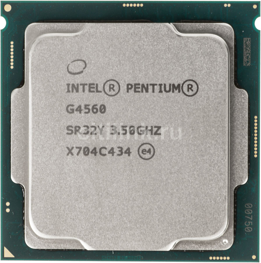 Процессор INTEL Pentium Dual-Core G4560, LGA 1151 OEM [cm8067702867064s r32y] компьютер dell optiplex 5050 intel core i3 7100t ddr4 4гб 128гб ssd intel hd graphics 630 linux черный [5050 8208]