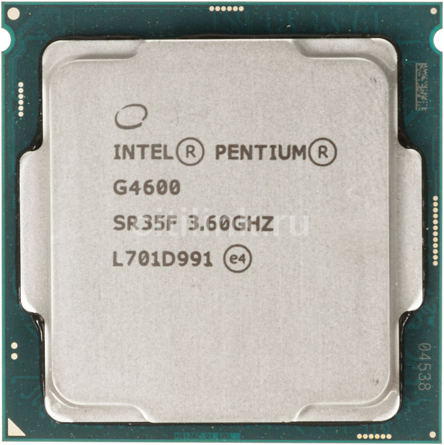 Процессор INTEL Pentium Dual-Core G4600, LGA 1151,  OEM [cm8067703015525s r35f]