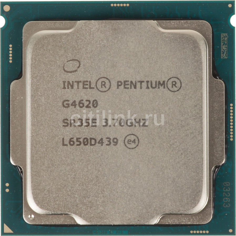 Процессор INTEL Pentium Dual-Core G4620, LGA 1151 * OEM [cm8067703015524s r35e] компьютер dell optiplex 5050 intel core i3 7100t ddr4 4гб 128гб ssd intel hd graphics 630 linux черный [5050 8208]