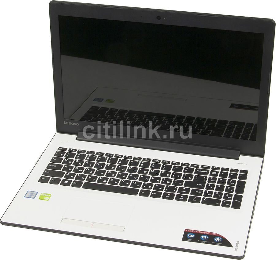 Ноутбук LENOVO IdeaPad 310-15ISK, 15.6, Intel Core i3 6100U, 2.3ГГц, 4Гб, 500Гб, nVidia GeForce 920MX - 2048 Мб, Windows 10, белый [80sm00vmrk]Ноутбуки<br>экран: 15.6;  разрешение экрана: 1920х1080; процессор: Intel Core i3 6100U; частота: 2.3 ГГц; память: 4096 Мб, DDR4, 2133 МГц; HDD: 500 Гб, 5400 об/мин; nVidia GeForce 920MX - 2048 Мб; WiFi;  Bluetooth; HDMI; WEB-камера; Windows 10<br><br>Линейка: IdeaPad