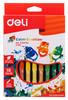 Масляная пастель Deli EC20110 Color Emotion шестигранные 18цв. картон.кор./европод. вид 1