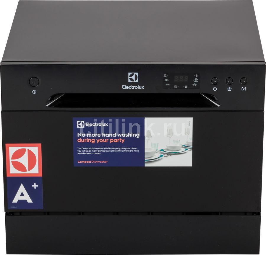 Посудомоечная машина ELECTROLUX ESF2400OK,  компактная, черный