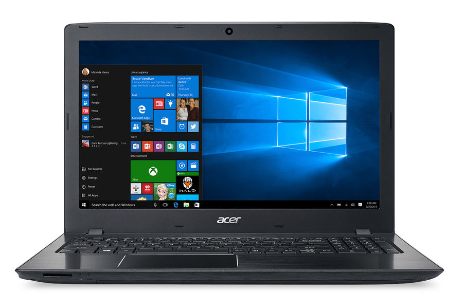 Ноутбук ACER Aspire E5-575G-53V2, 15.6, Intel Core i5 7200U, 2.5ГГц, 6Гб, 500Гб, 128Гб SSD, nVidia GeForce GTX 950M - 2048 Мб, Windows 10, черный [nx.gdzer.028]Ноутбуки<br>экран: 15.6;  разрешение экрана: 1920х1080; процессор: Intel Core i5 7200U; частота: 2.5 ГГц (3.1 ГГц, в режиме Turbo); память: 6144 Мб, DDR4; HDD: 500 Гб, 5400 об/мин; SSD: 128 Гб; nVidia GeForce GTX 950M - 2048 Мб; WiFi;  Bluetooth; HDMI; WEB-камера; Windows 10<br><br>Линейка: Aspire
