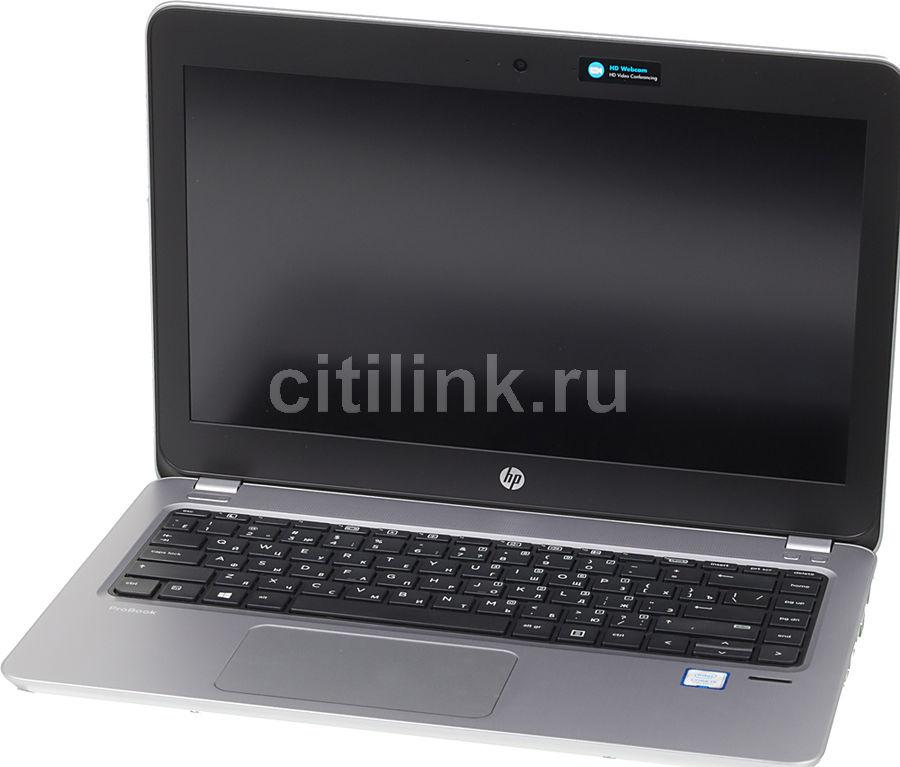 "Ноутбук HP ProBook 430 G4, 13.3"", Intel  Core i5  7200U 2.5ГГц, 4Гб, 500Гб, Intel HD Graphics  620, Free DOS 2.0, Y7Z52EA,  серебристый"