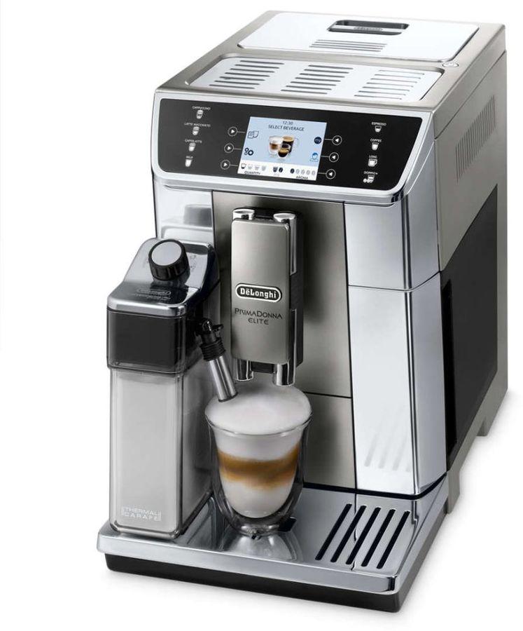 Кофемашина DELONGHI ECAM650.55.MS,  серебристый