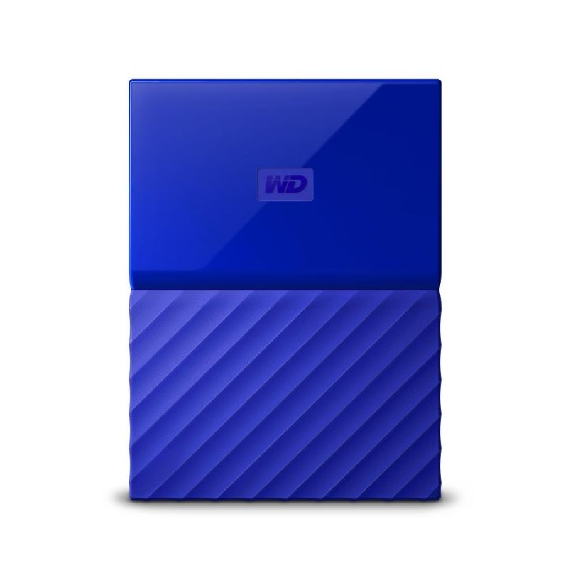 Внешний жесткий диск WD My Passport WDBUAX0030BBL-EEUE, 3Тб, синий
